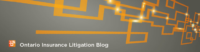 Ontario Insurance Litigation Blog