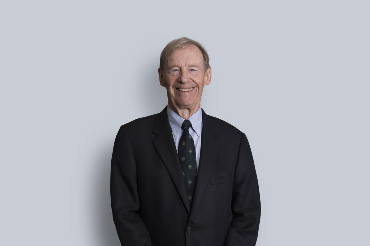 Portrait of William (Bill) M.  Pigott