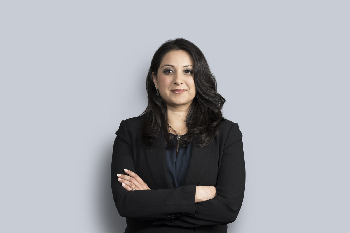 Portrait de Ayesha Lakhani