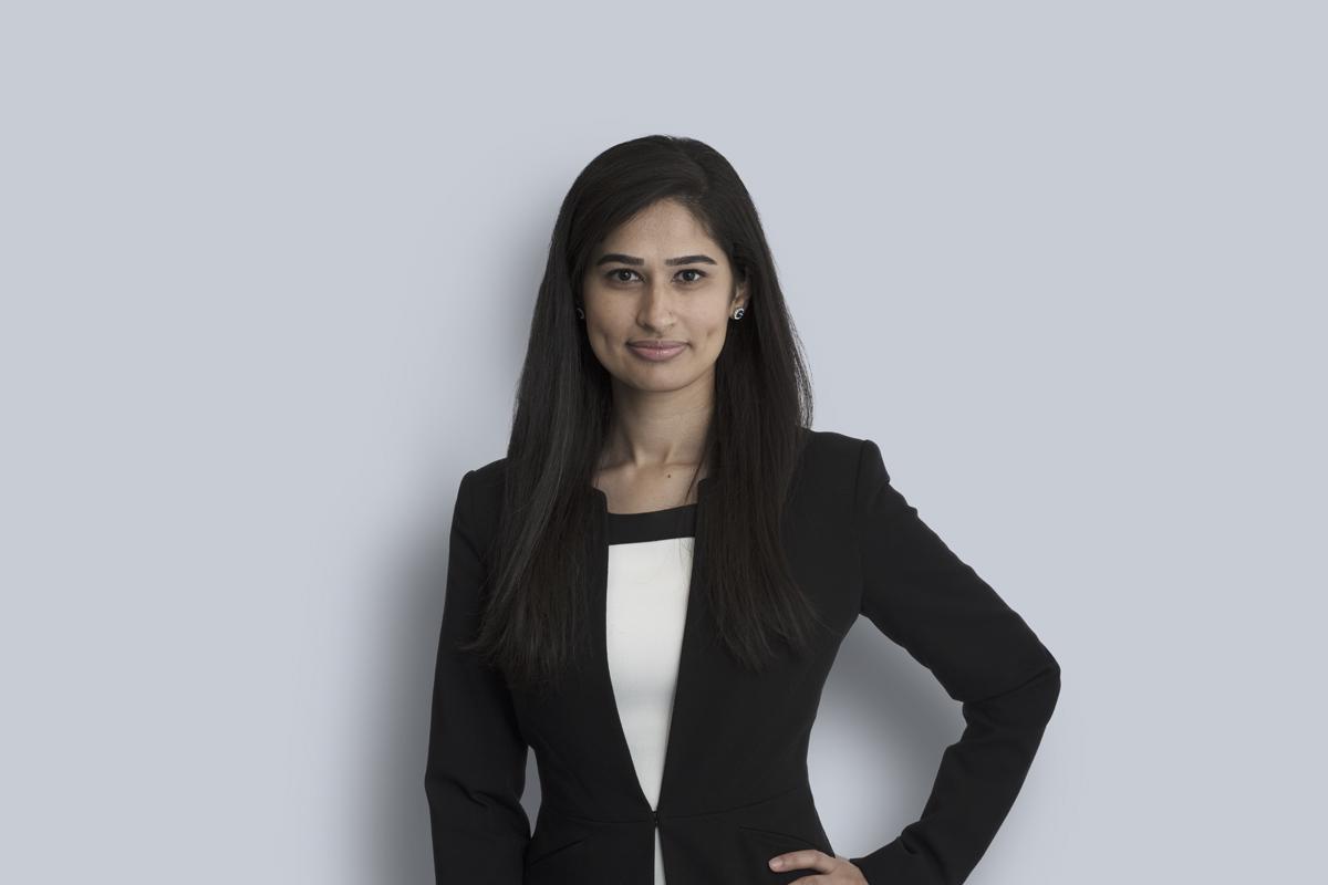 Portrait de Fareeha Qaiser