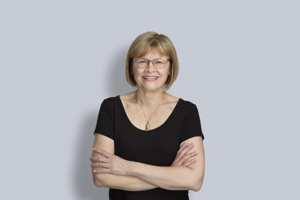 Portrait of Kathy Langille