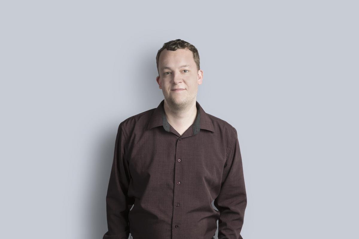 Portrait of Myles Hunsberger