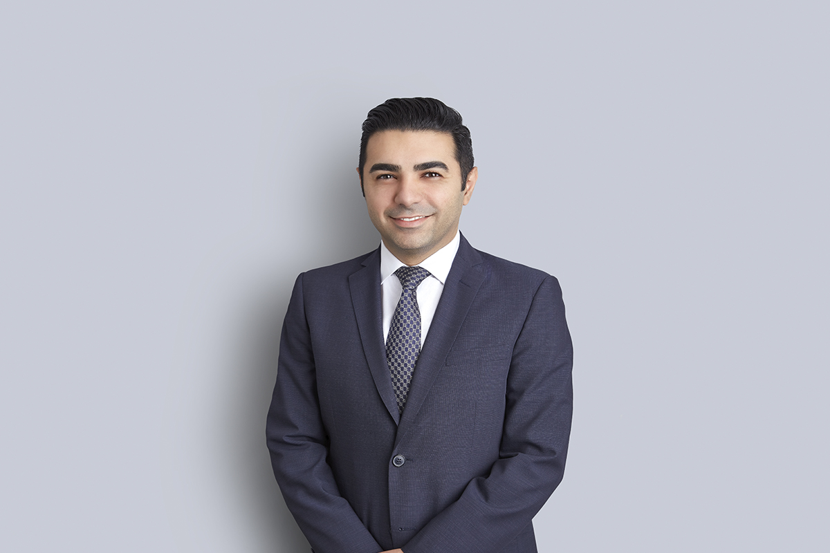 Portrait of Ali Baniasadi