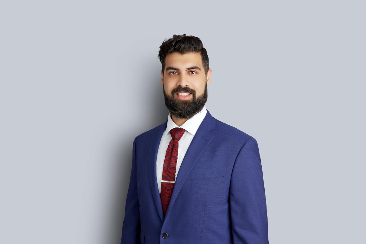 Portrait of Yasir Samad
