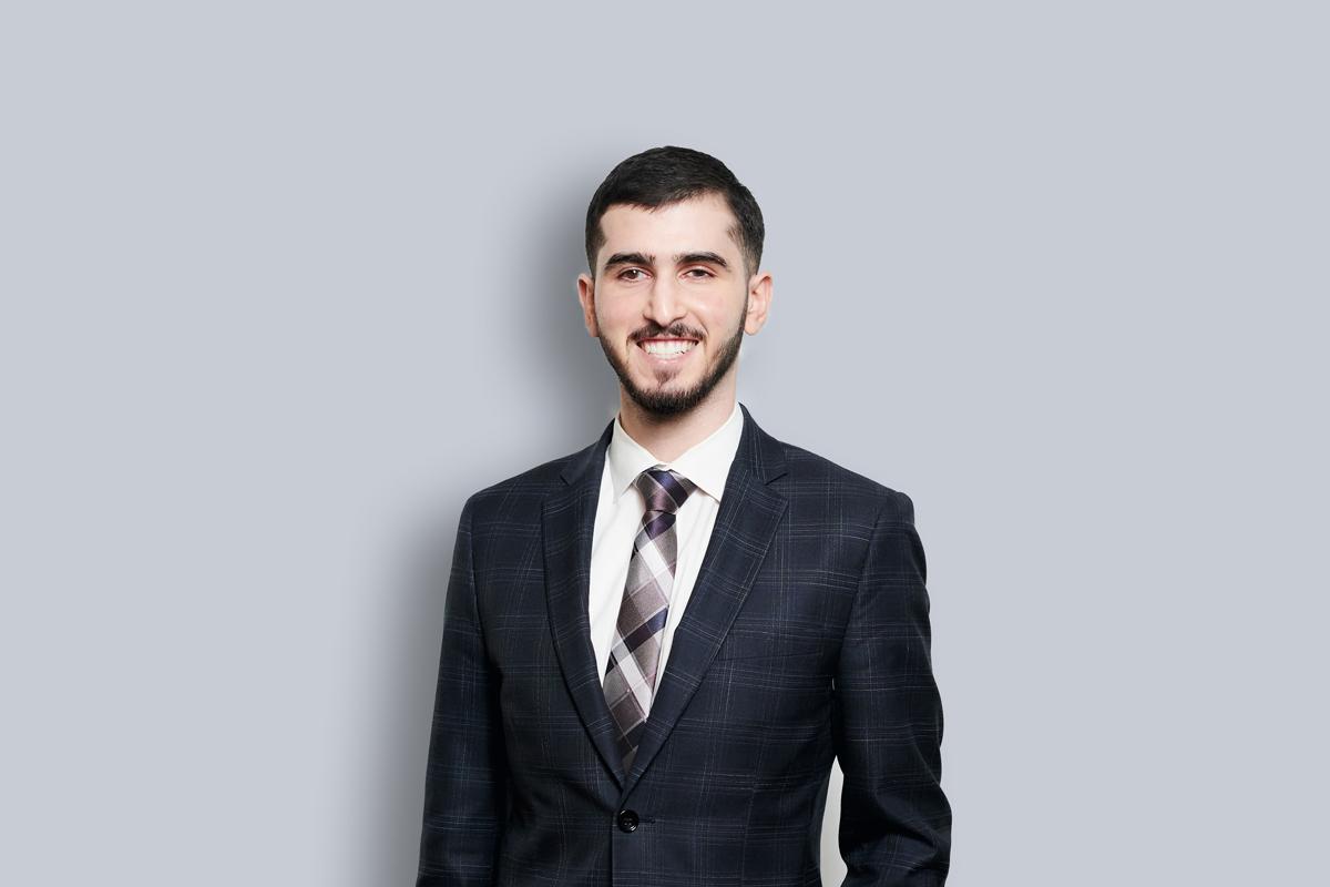 Portrait of Amir Aboguddah