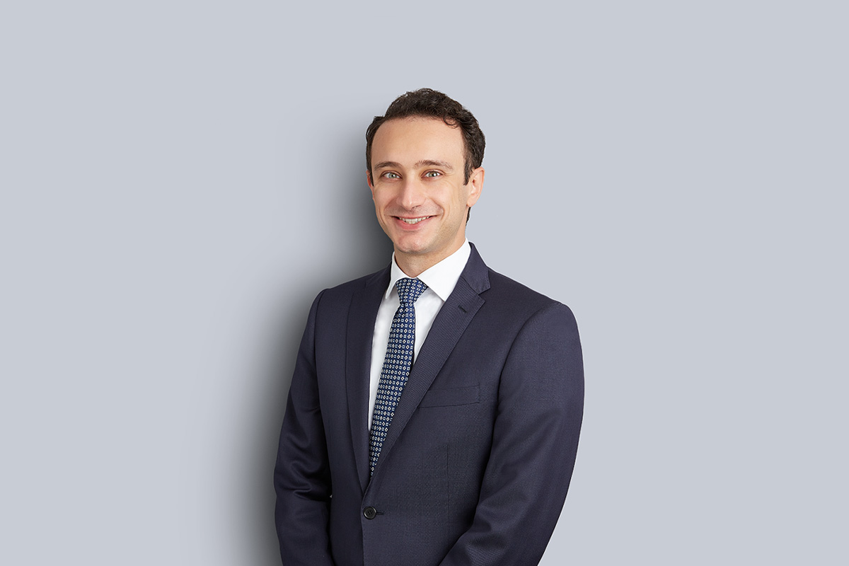 Portrait of Matthew Cressatti